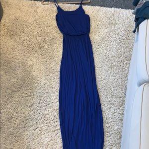 Blue super soft lush maxi dress!